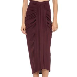 Torn by Ronny kobo rib midi skirt Scarlett Small